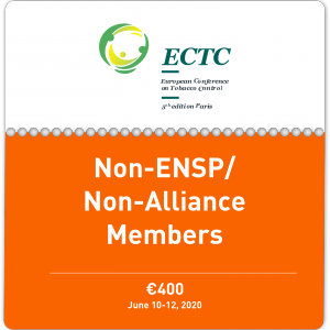 Ticket for Non-ENSP and Non-Alliance Members