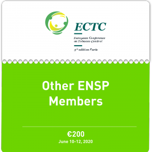 Ticket for Other ENSP Members