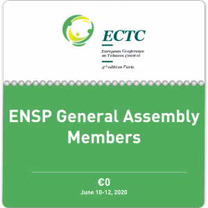 Ticket for ENSP General Assembly Members
